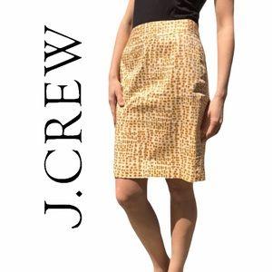 J. Crew- Stretch Pencil Skirt